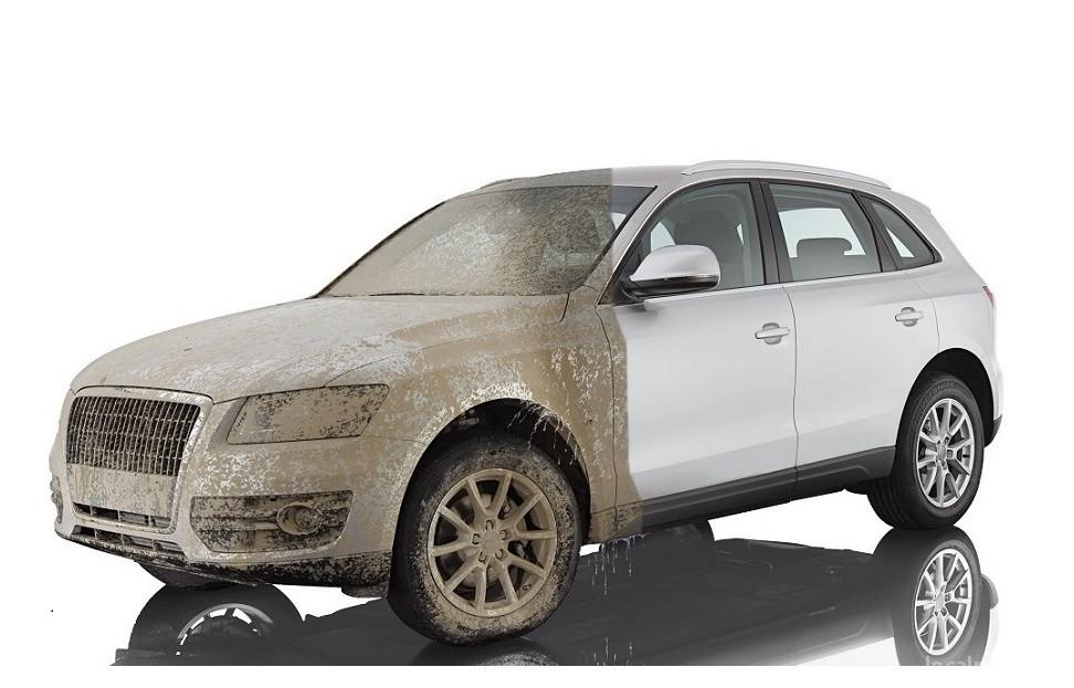 Как помыть автомобиль без воды - что такое сухая мойка?