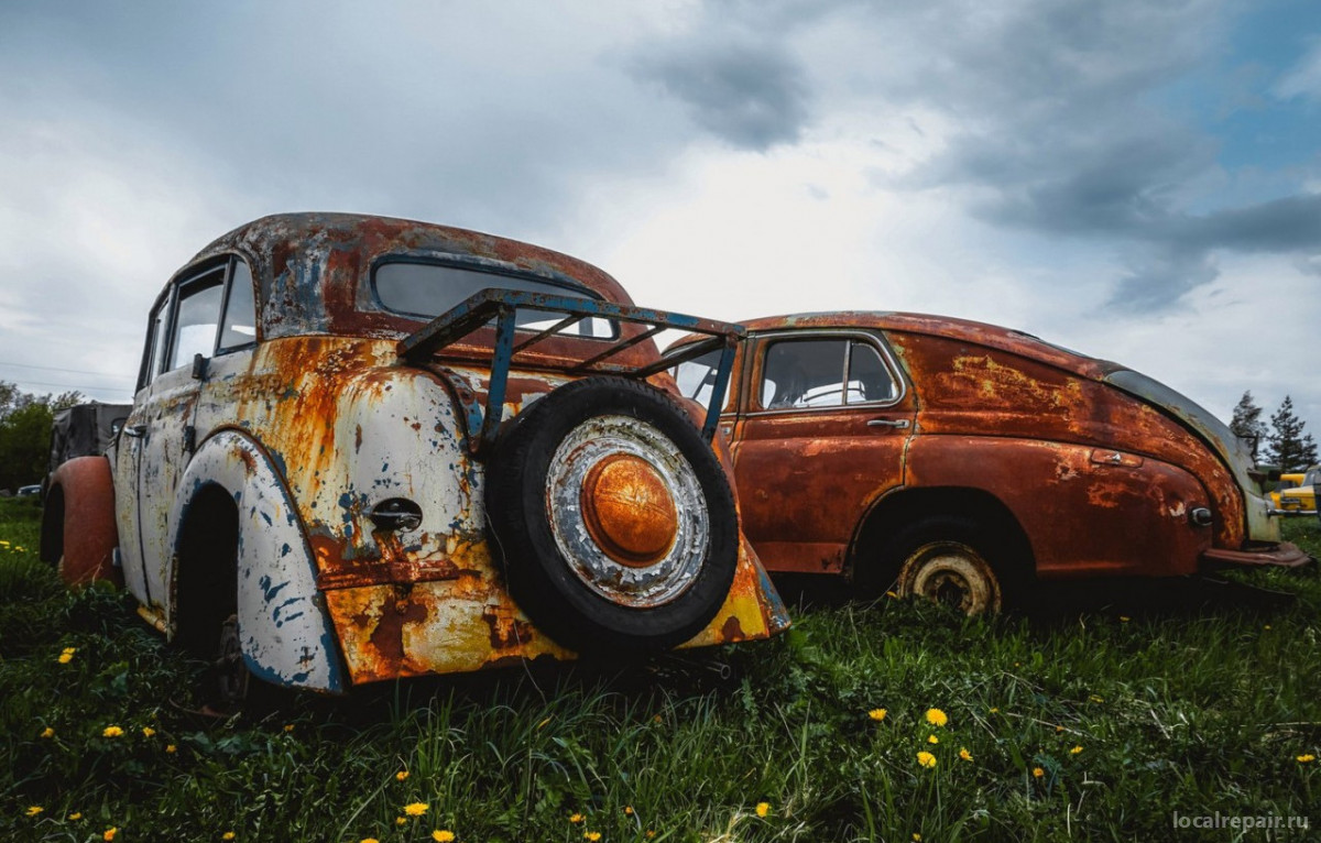 Ржавчина на кузове автомобиля: удаление